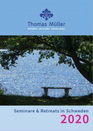 Broschüre: Seminare & Retreats in Schweden 2020