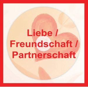 Übungs-CDs mit spezieller Klangtechnik (Hemisphärensynchronisation) - Liebe / Freundschaft / Partnerschaft