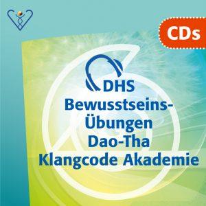 6 verschiedene CDs Dao-Tha Klangcode Akademie